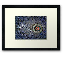 Eye Wire Framed Print