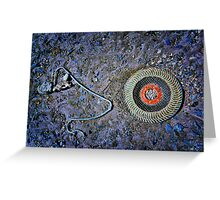Eye Wire Greeting Card