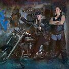 Biker Chicks by JaninesWorld