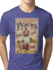 Vintage Reach's Baseball Guide Tri-blend T-Shirt