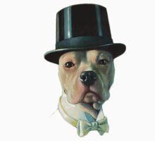 Vintage Dog stafford bull terrier by kustom