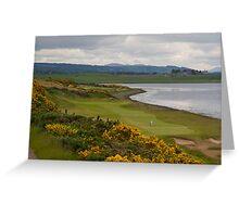 Castle Stuart Golf Course Greeting Card