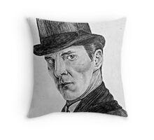 Sherlocked Throw Pillow
