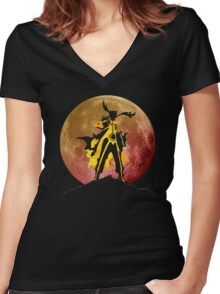 Six Paths Sage Technique Women's Fitted V-Neck T-Shirt