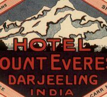 Vintage Mount everest hotel Sticker