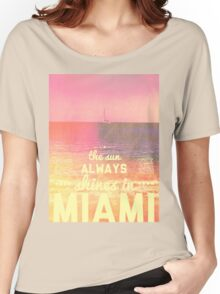 Miami Marshmallow Women's Relaxed Fit T-Shirt
