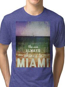 Miami Super Vintage Tri-blend T-Shirt
