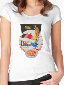 Vintage Fruit loops advertisement Women's Fitted Scoop T-Shirt