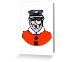 Santa Cop Greeting Card