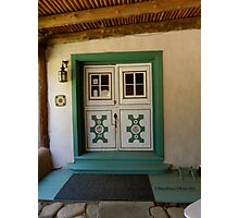 The Portal to Mabel Dodge Luhan's Adobe in Taos Photographic Print