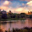Rowing in Central Park by John Rivera