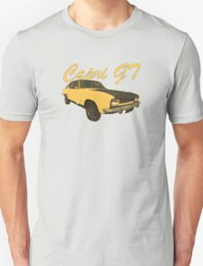 Vintage Aged Look Ford Capri GT Graphic T-Shirt