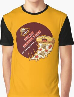 Pizza Abduction Graphic T-Shirt