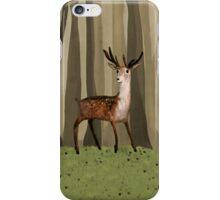 Deer in the Woods iPhone Case/Skin