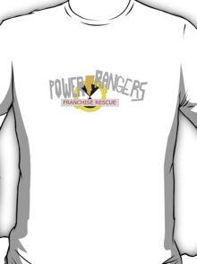 Power Rangers Franchise Rescue T-Shirt