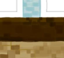 Minecraft Birthday Cake  Sticker