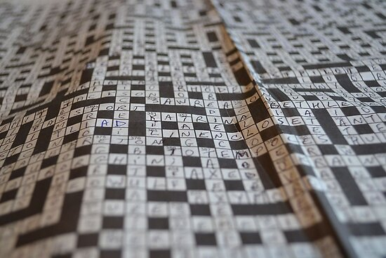Close-up Crossword Puzzle by MoniqueFlynn