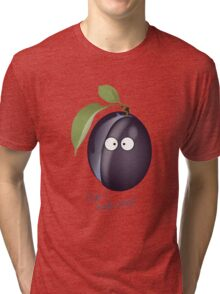 Prune Tri-blend T-Shirt