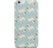 French Bulldog pattern iPhone Case/Skin