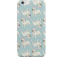 French Bulldog pattern iPhone Case/Skin