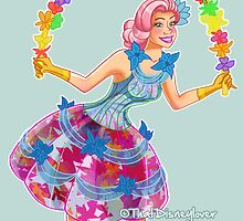 Disneyland Paris Flower Dancer by ThatDisneyLover