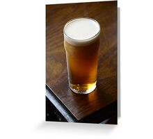 Pint of Timothy Taylor's Landlord Greeting Card