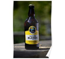 Saltaire Blonde Poster