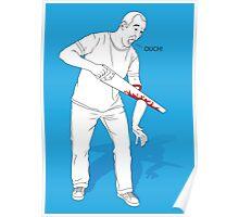 DIY Sawing Gone Wrong Poster