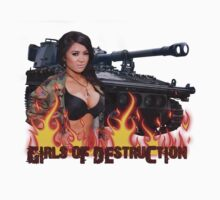 Girls of Destruction Tank shirt by mcdesign