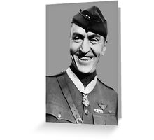 Eddie Rickenbacker Greeting Card
