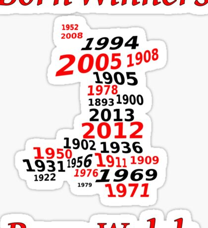 Welsh nations the winning years Wales Sticker