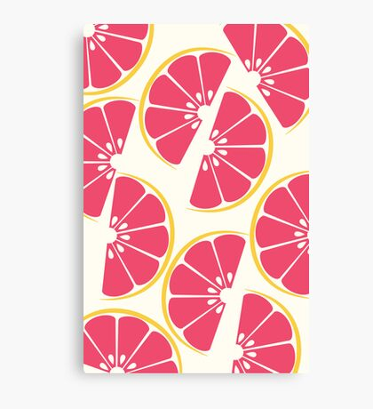 Citrus: Grapefruit Canvas Print