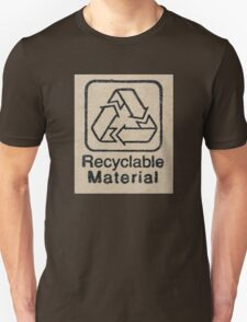 Recyclable Material Unisex T-Shirt