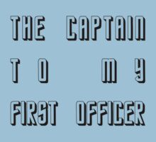 The Captain to my First Officer by CaptainFlowers5