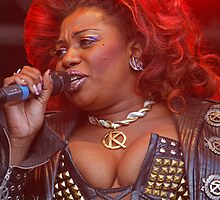 Brenda Edwards in We Will Rock You by Keith Larby