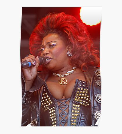 Brenda Edwards in We Will Rock You Poster