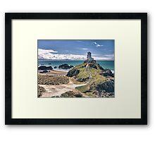 Llanddwyn Island Lighthouse Framed Print