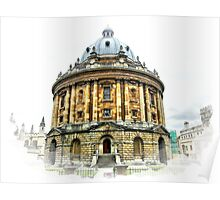 Radcliff Camera in Oxford Poster