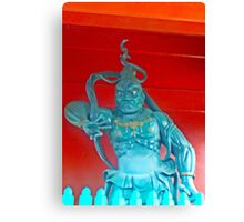 Temple Guard Canvas Print