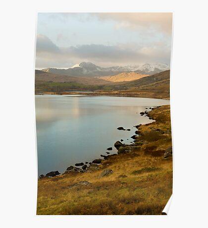Snowdonia Mountains Poster