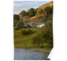 House by Loughrigg Tarn Poster