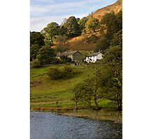 House by Loughrigg Tarn Photographic Print
