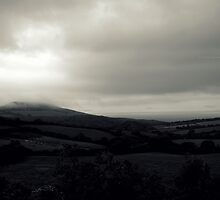 """ Low Cloud On Blackened Vales "" (Limited Edition Of 50) by Richard Couchman"