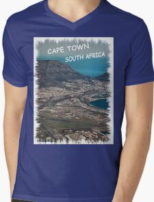 CAPE TOWN, SOUTH AFRICA - KAAPSTAD SUID AFRIKA! Mens V-Neck T-Shirt