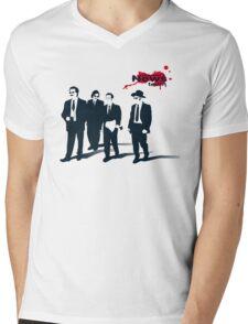 News Team Mens V-Neck T-Shirt