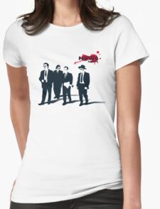 News Team Womens Fitted T-Shirt