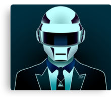 Daft Portrait 1 Canvas Print