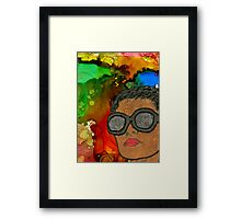 Fluid Thoughts Framed Print