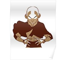 Minimalist Aang from Avatar the Last Airbender Poster
