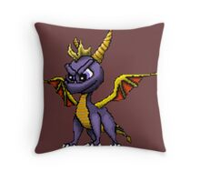 Spyro Pixelated Throw Pillow